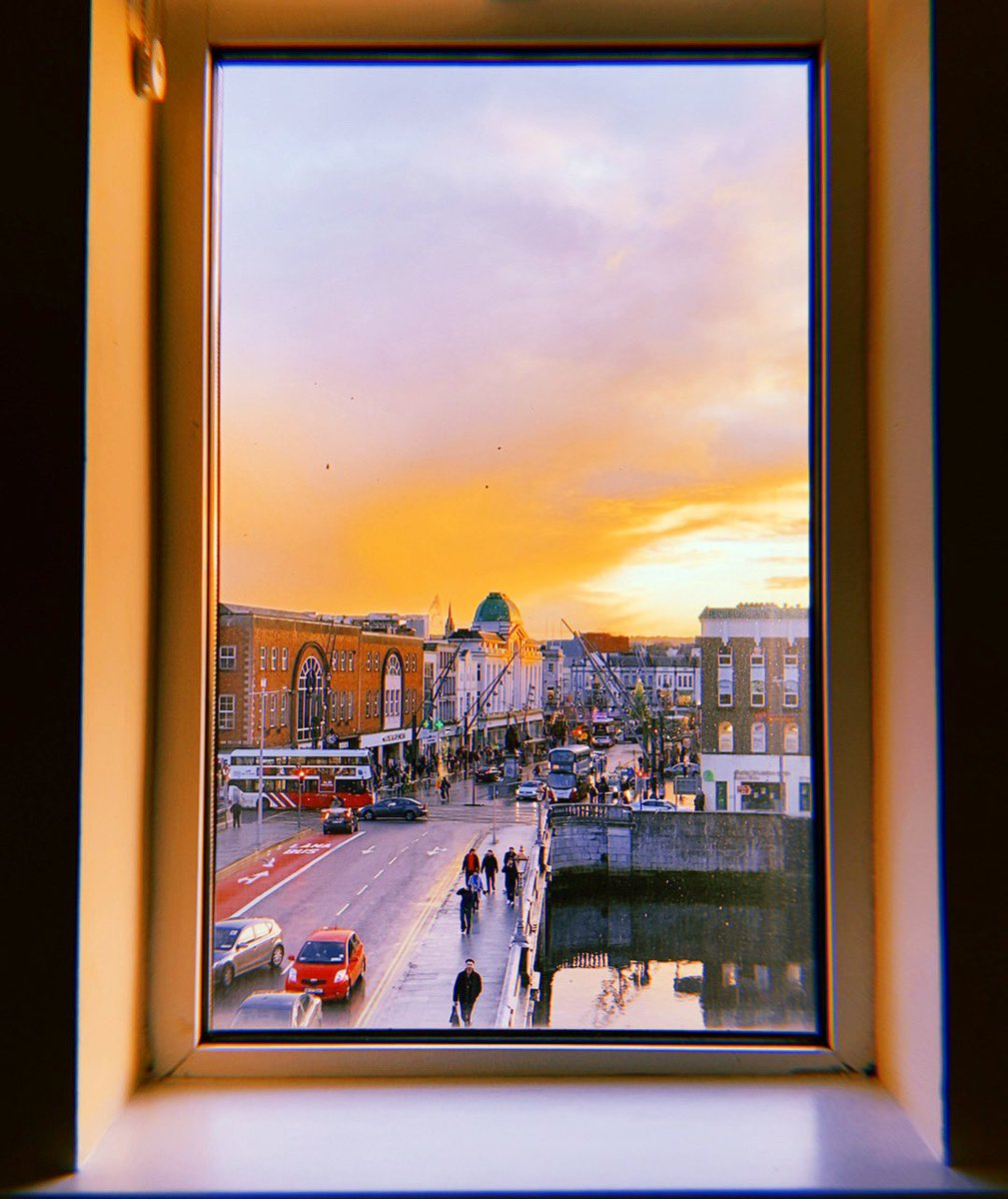 The view from Classroom 19 🖼 ⠀ ⠀ Cork really is a work of art ♥️⠀ ⠀ #CorkEnglishCollege #CorkCity #PureCork #LoveCork