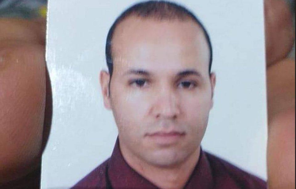 الشهيد محمد الأمين الوافي الذي إستشهد اليوم إثر سقوط المروحية العسكرية.
