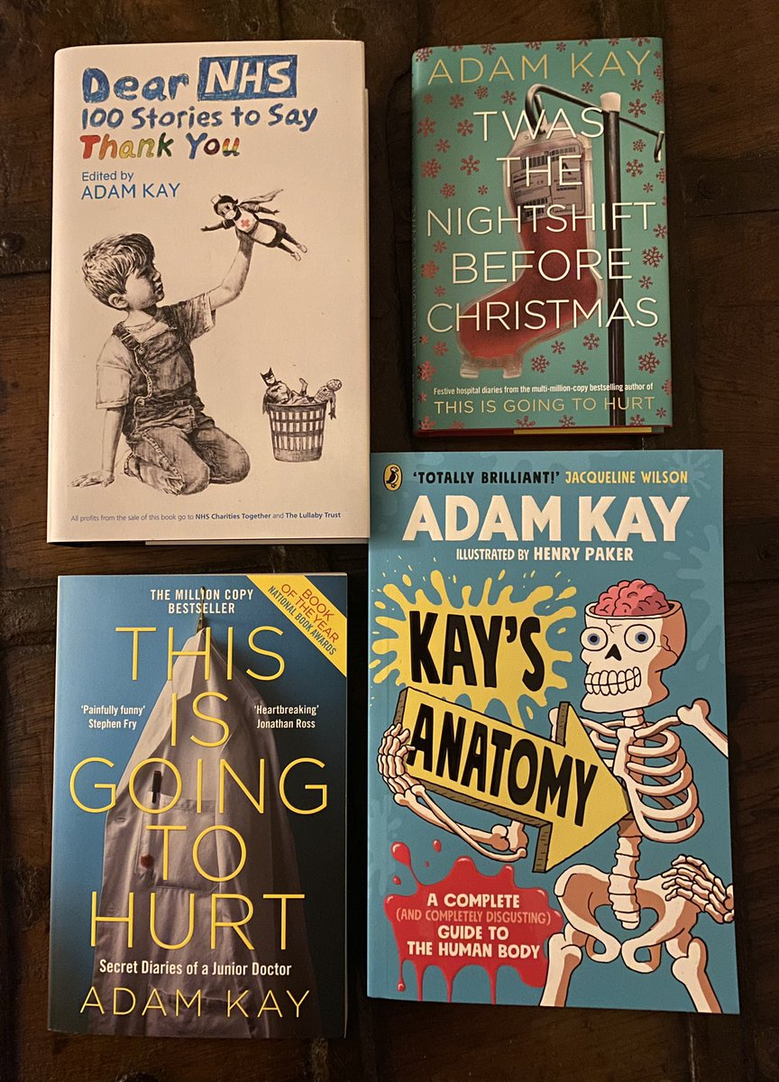 RT and I'll pick someone at random on Thurs eve to win signed copies of these four books. Will be a good Xmas present if you have a friend who likes my writing or, equally, an enemy who hates my writing.