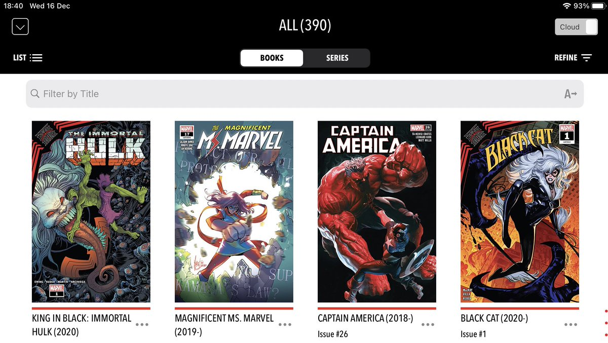 I've been battling a vicious headache this evening, but you know what makes things better? Yes, comics on #NCBD! (And paracetamol). This week my #MarvelsPullList included #KingInBlackImmortalHulk, #CaptainAmerica, #MagnificentMsMarvel and #BlackCat