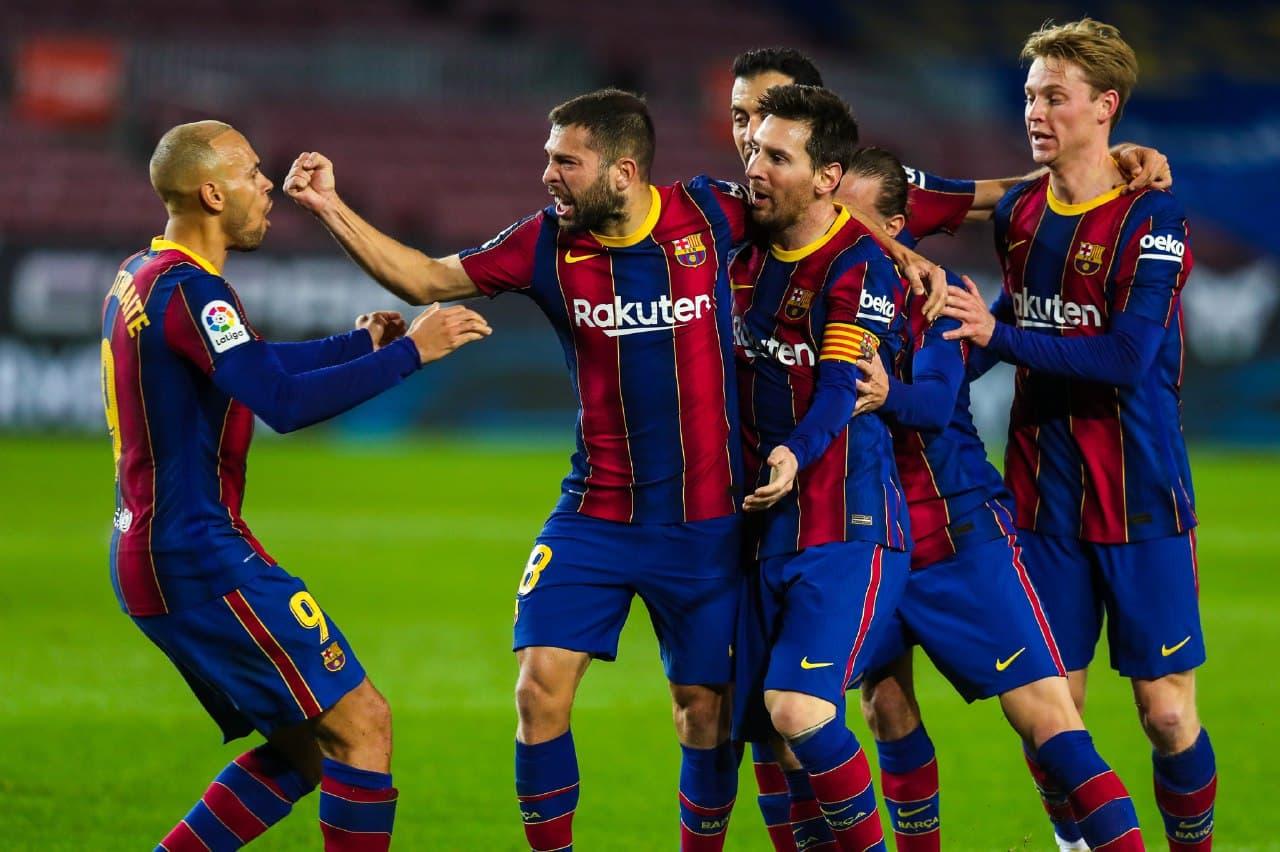 برشلونة يتفوق على ريال سوسيداد بشق الانفس في الدوري الاسباني