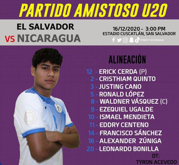 Juegos amistosos contra Nicaragua en diciembre del 2020. EpYzYehXUAIwZM-?format=jpg&name=small