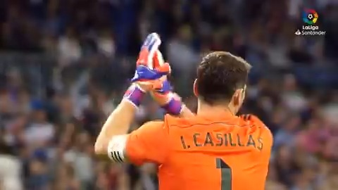 👼 𝐒𝐀𝐍 𝐈𝐊𝐄𝐑 👼  The boy who lived his dream for @realmadriden... the story of how @IkerCasillas became a 𝘭𝘰𝘴 𝘣𝘭𝘢𝘯𝘤𝘰𝘴 legend! 💜  #LaLigaIcons