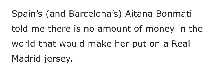 no cause aitana literally said puta madrid