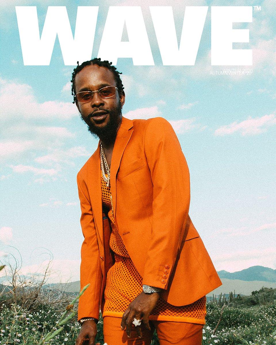 Replying to @PopcaanMusic: WAVE Magazine 🙏🏽
