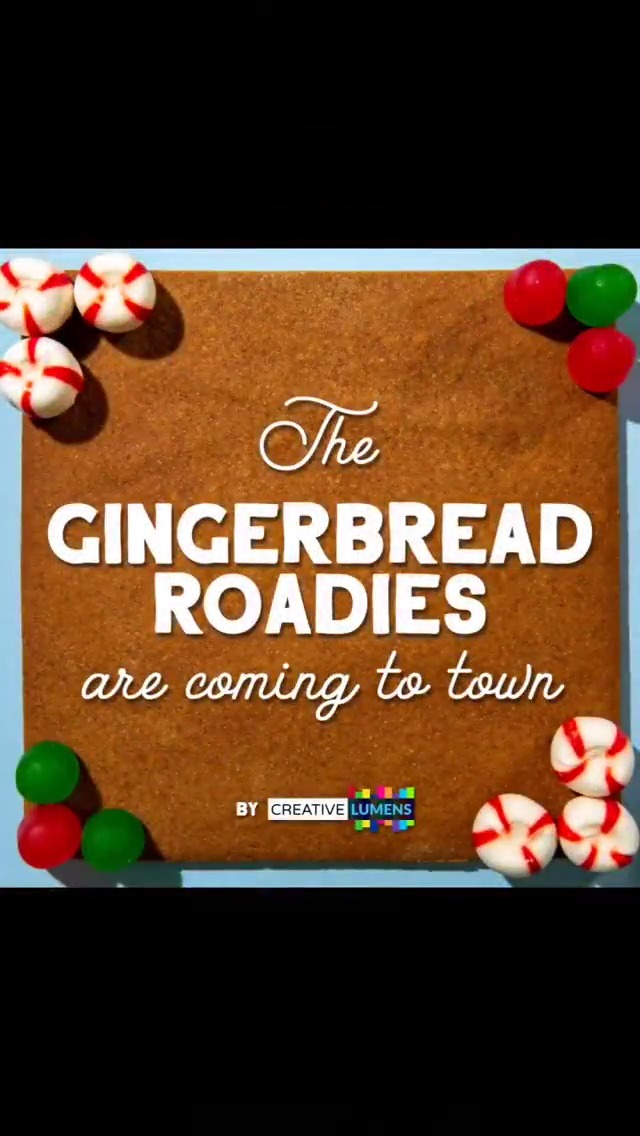 Gingerbread Roadies Are Coming to Town!! 😂 If you miss live music as much as we do, please join @WeMakeEvents_NA and LEVL Up TONIGHT at 8:30pm ET / 5:30pm PT for LEVL UP LIFT UP FESTIVAL featuring a number of artists in support of the live music industry.