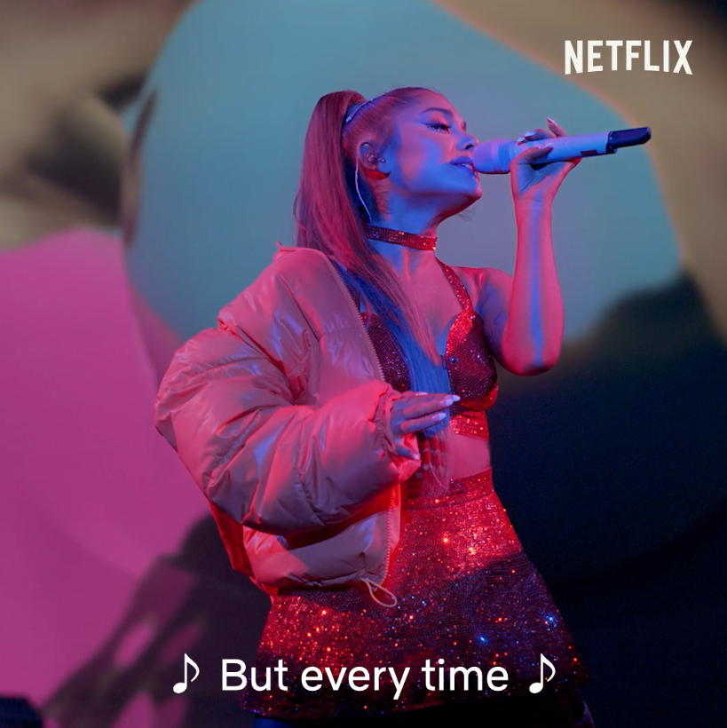 Replying to @netflix: I said it: Ariana Grande exclusive clip  you liked it. you want it? I got it 🤍