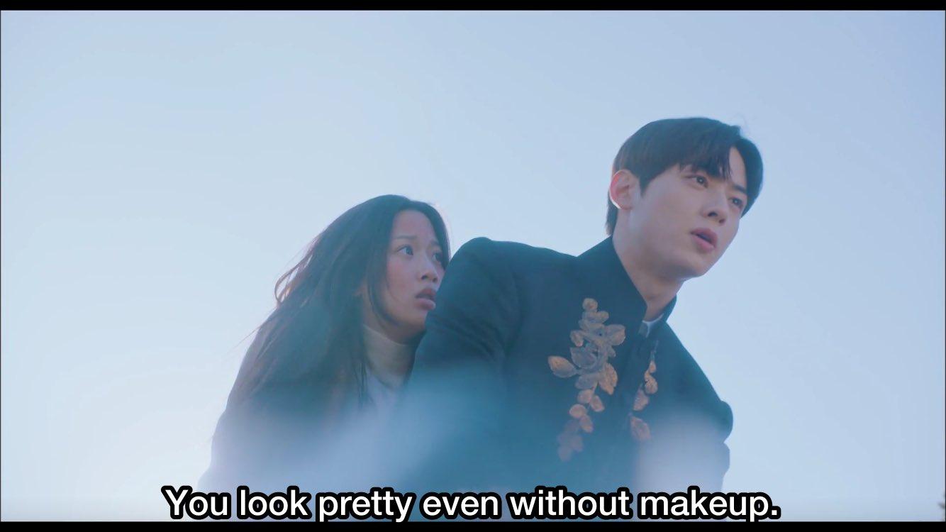 Scene True Beauty memparodikan TKEM (sumber: tvN)