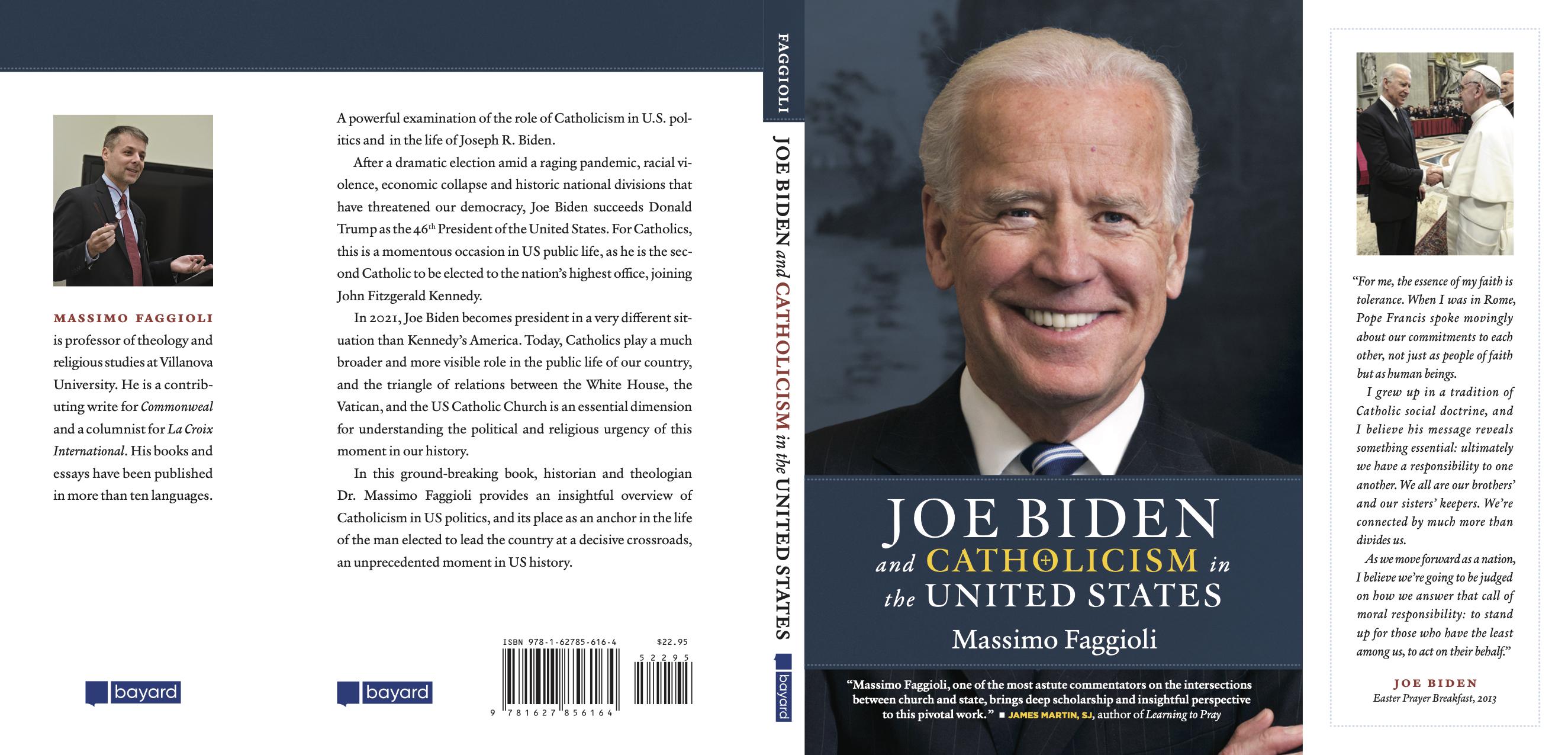 Biden, el nuevo libro de Massimo Faggioli