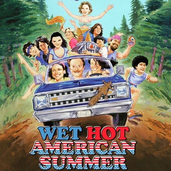 An annual tradition. So bad but so good. #wethotamericansummer