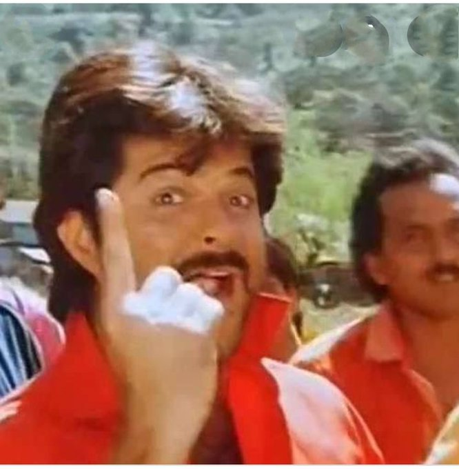 Wish you happy birthday to you anil Kapoor sir                     mr.india lakhan congratulations