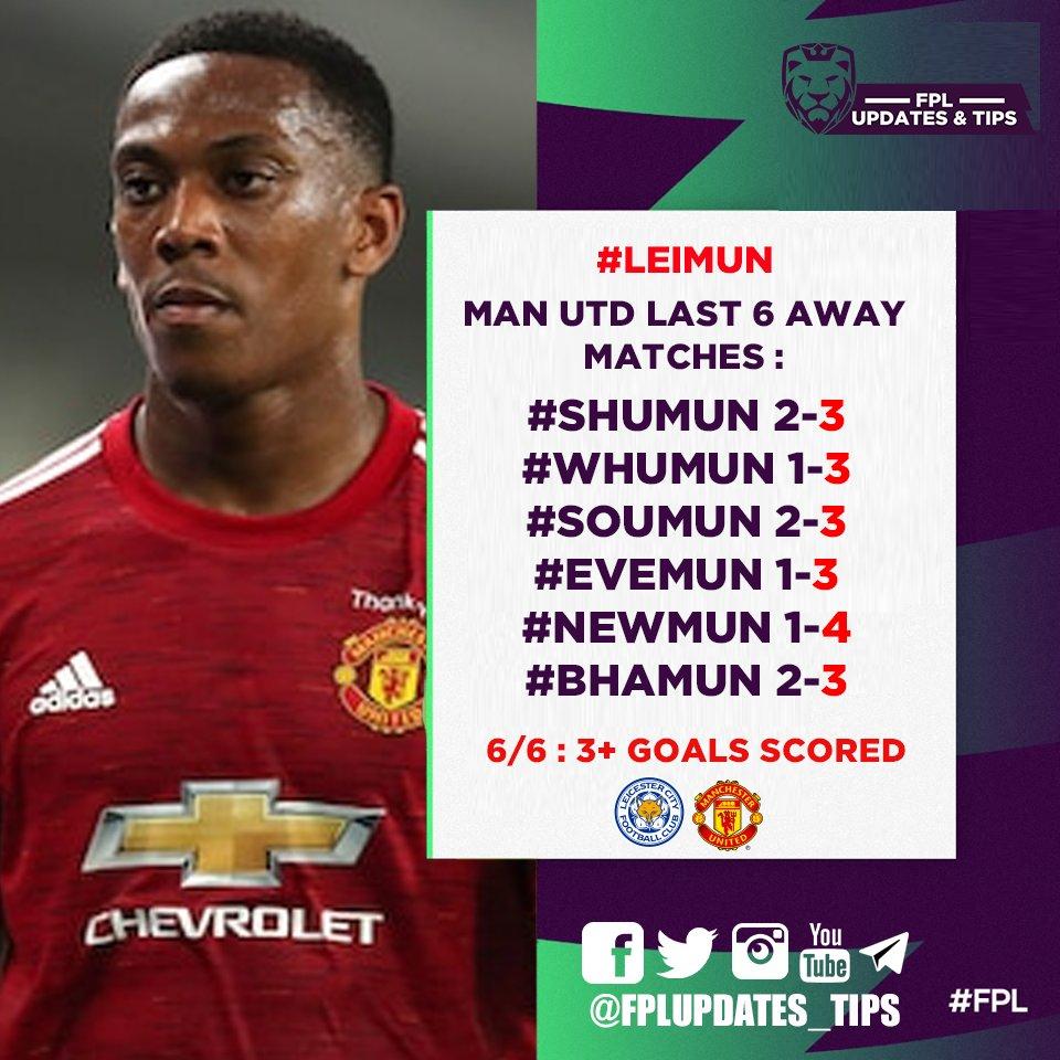 Man Utd Last 6 Away Matches : #SHUMUN 2-3 #WHUMUN 1-3 #SOUMUN 2-3 #EVEMUN 1-3 #NEWMUN 1-4 #BHAMUN 2-3  6/6 3+ Goals Scored