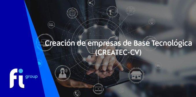 El  ha publicado la ayuda Creación de Empresas de Base Tecnológica _CV.El objetivo es fomentar....
