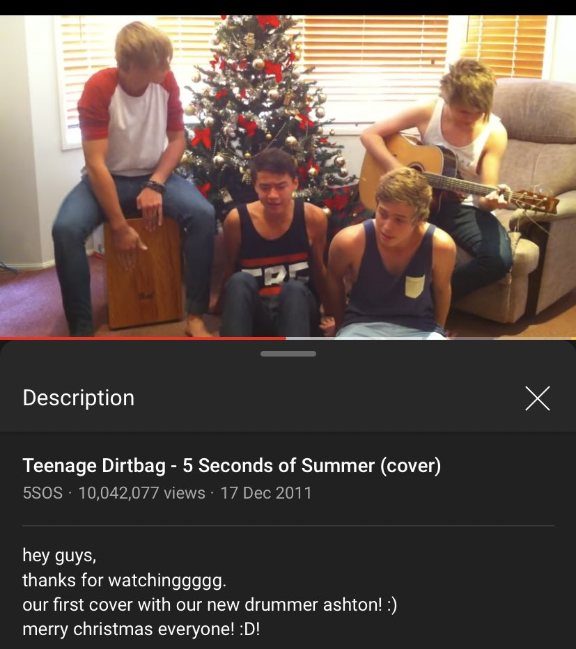 i know it's not technically #9yearsof5sos but it's 9 years since this gem ❤️ i'm feeling nostalgic cause 5sos is coming was on my recommend because of their vocal coach 🥺🥺 #5SOS5IsComing