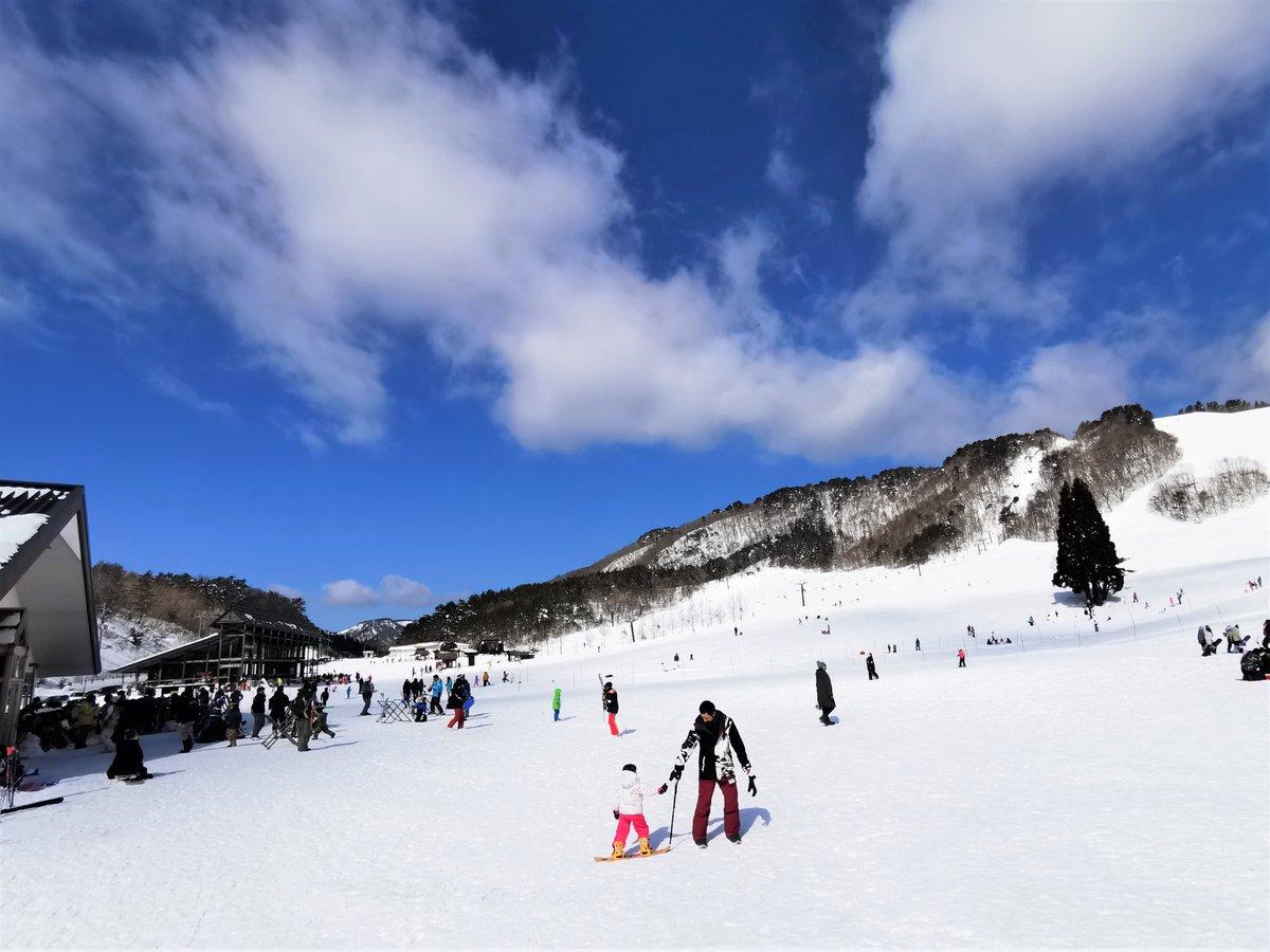 高原 恩 スキー 場 原