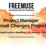 Image for the Tweet beginning: Freemuse is hiring!  We are currently