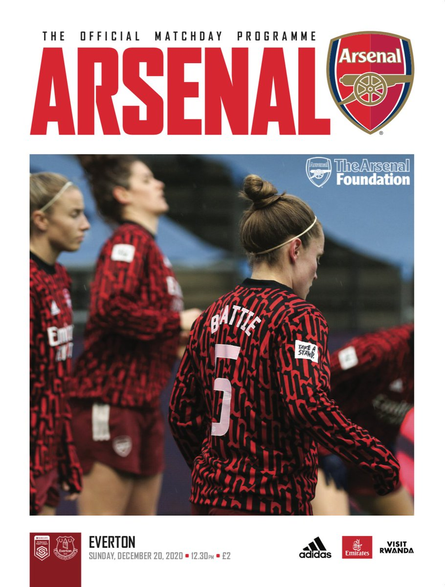 🚨 @ArsenalWFC v @EvertonWomen programmme available 🚨  ⌛️Order today for delivery pre-match  🔴⚪️ Featuring @LisaEvans_17 @bmeado9 & @MontemurroJoe   🏴󠁧󠁢󠁳󠁣󠁴󠁿 And lots of 🤎🤍 for our hero @jbeattie91   ⬇️ Order here ⬇️