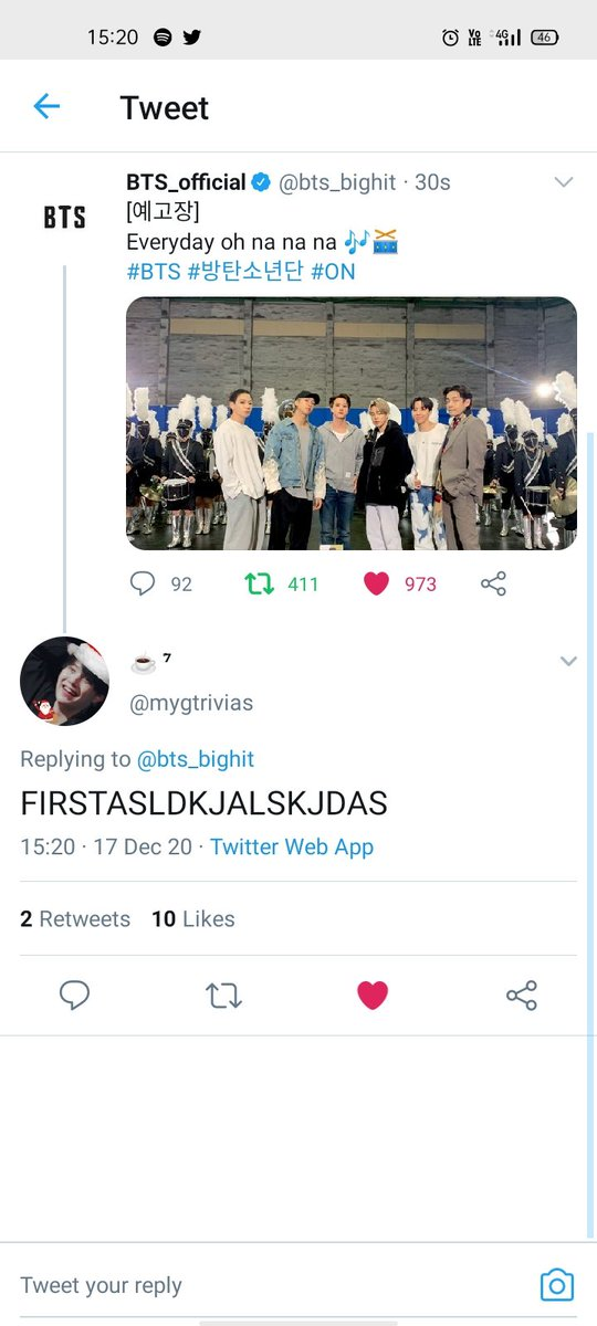 @mygtrivias @bts_bighit I am early tooo
