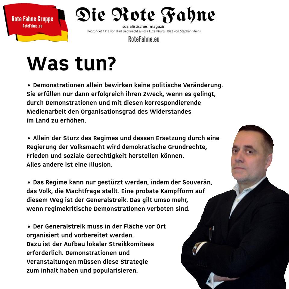Stephan Steins: Was tun?