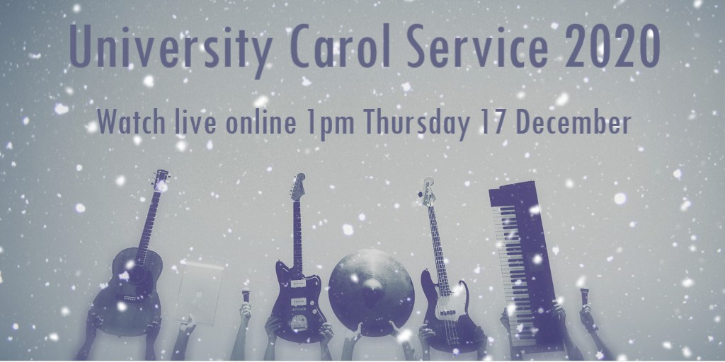 🎄 Our online Christmas Carol Service is at 1pm today!   🎶 Enjoy carols & music from @UniStrathclyde Chorus, Jazz Orchestra, Concert Band, CLL Choir & @St_Mungos_Pri pupils.   👀 Sign up & watch live: https://t.co/Ic9LO4K9al  🙏 Donations: https://t.co/XTiiZ2UtNp  #StrathLife https://t.co/RojOeIwPuq