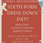 Image for the Tweet beginning: dress down day tomorrow in