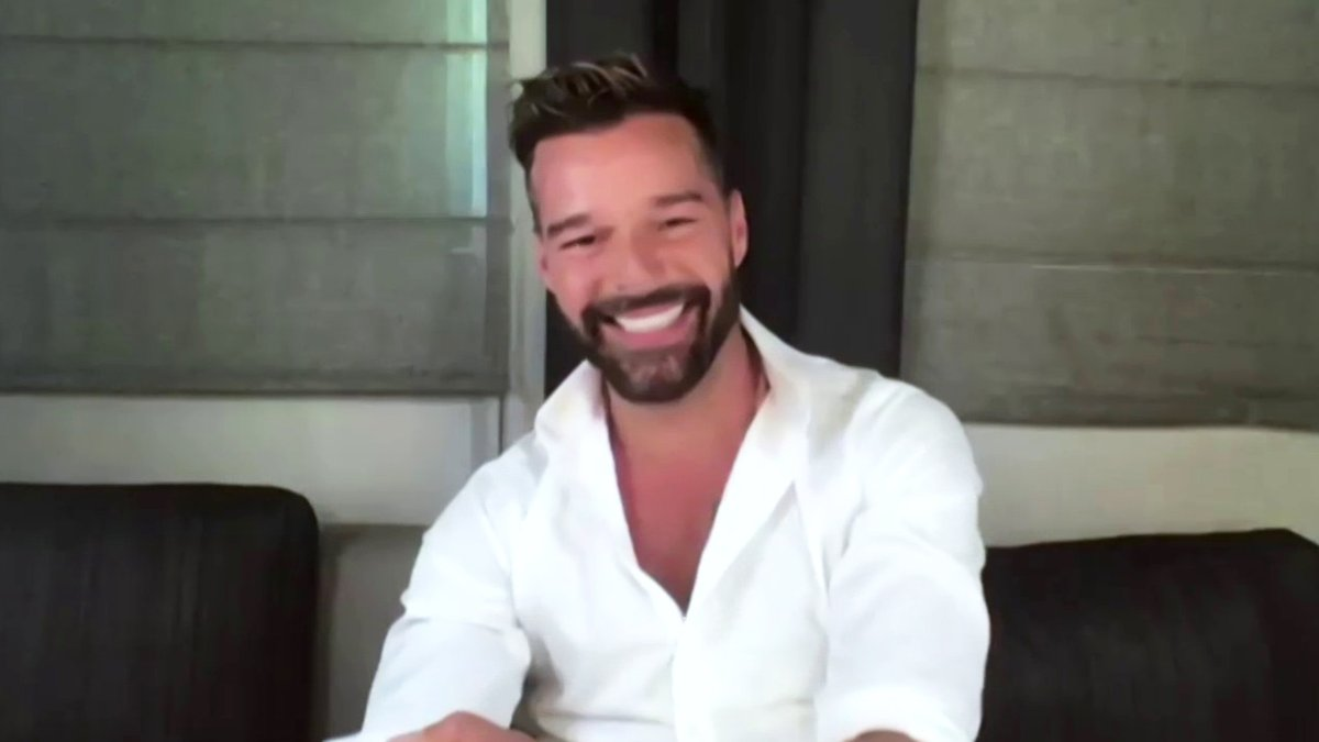 .@ricky_martin joins us to talk about his upcoming holiday film #JingleJangle, and his excitement for getting back on stage after the pandemic.