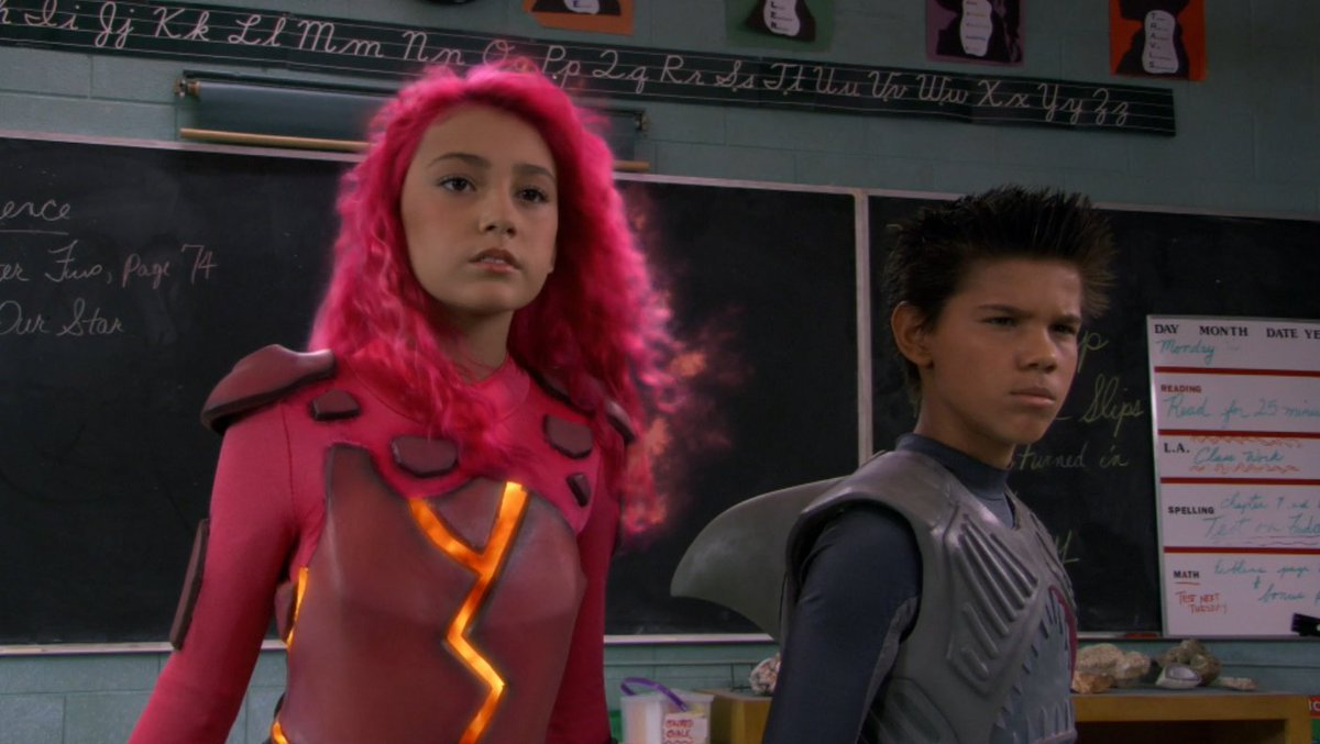 In one week, Sharkboy and Lavagirl return in We Can Be Heroes.   For now, go back to where it all began: 2005's The Adventures of Sharkboy and Lavagirl is now on Netflix