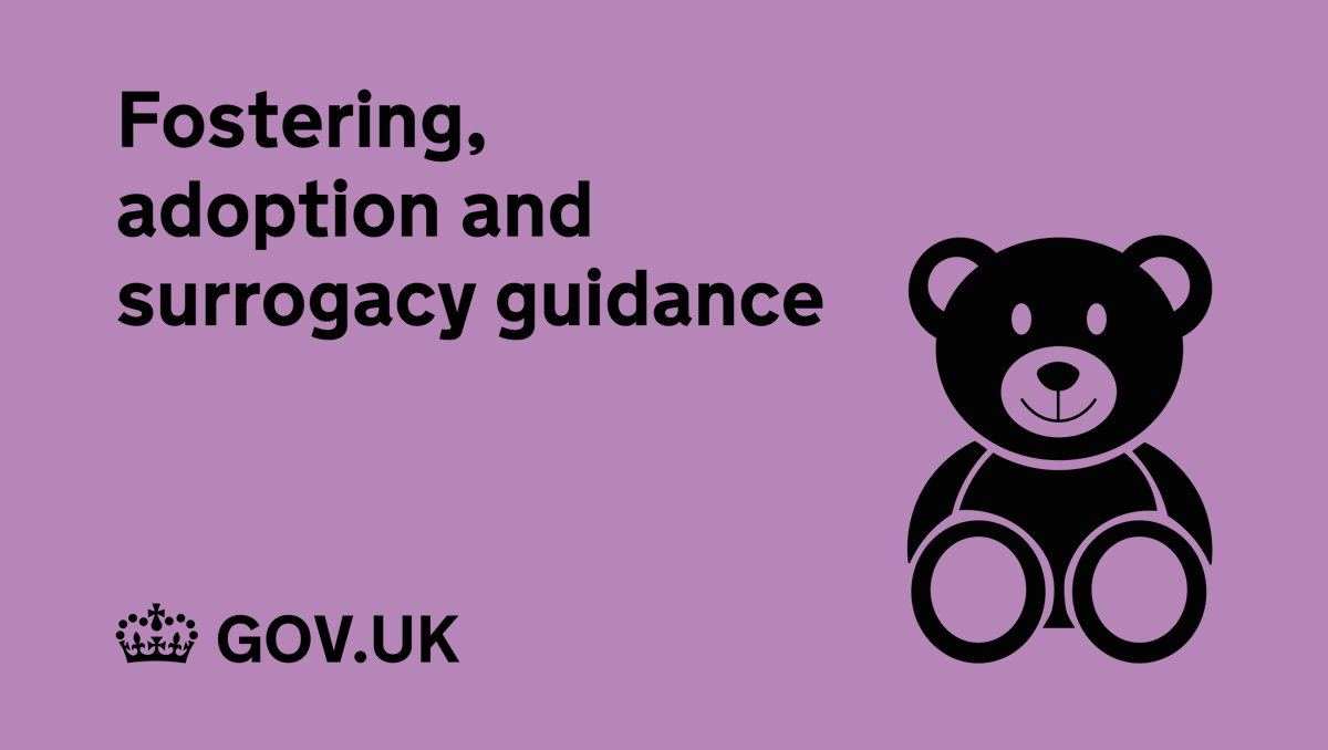 Are you interested in fostering, adoption or surrogacy?   You can find guidance here: