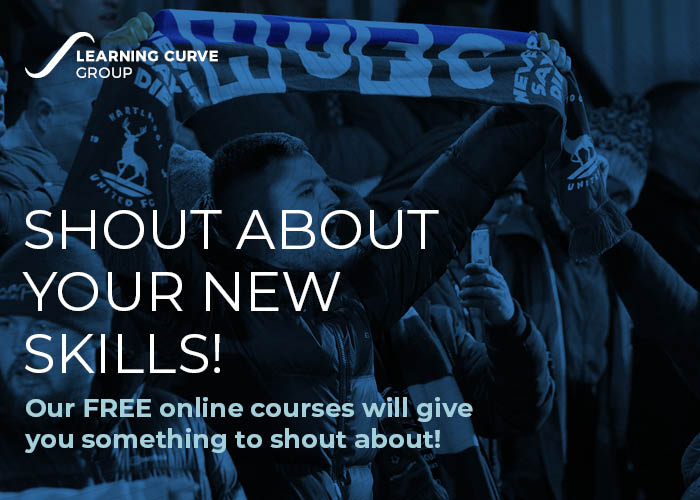 Tell your friends about the FREE courses that @_LearningCurve  have to offer  Shout about your new skills!  Find out more: