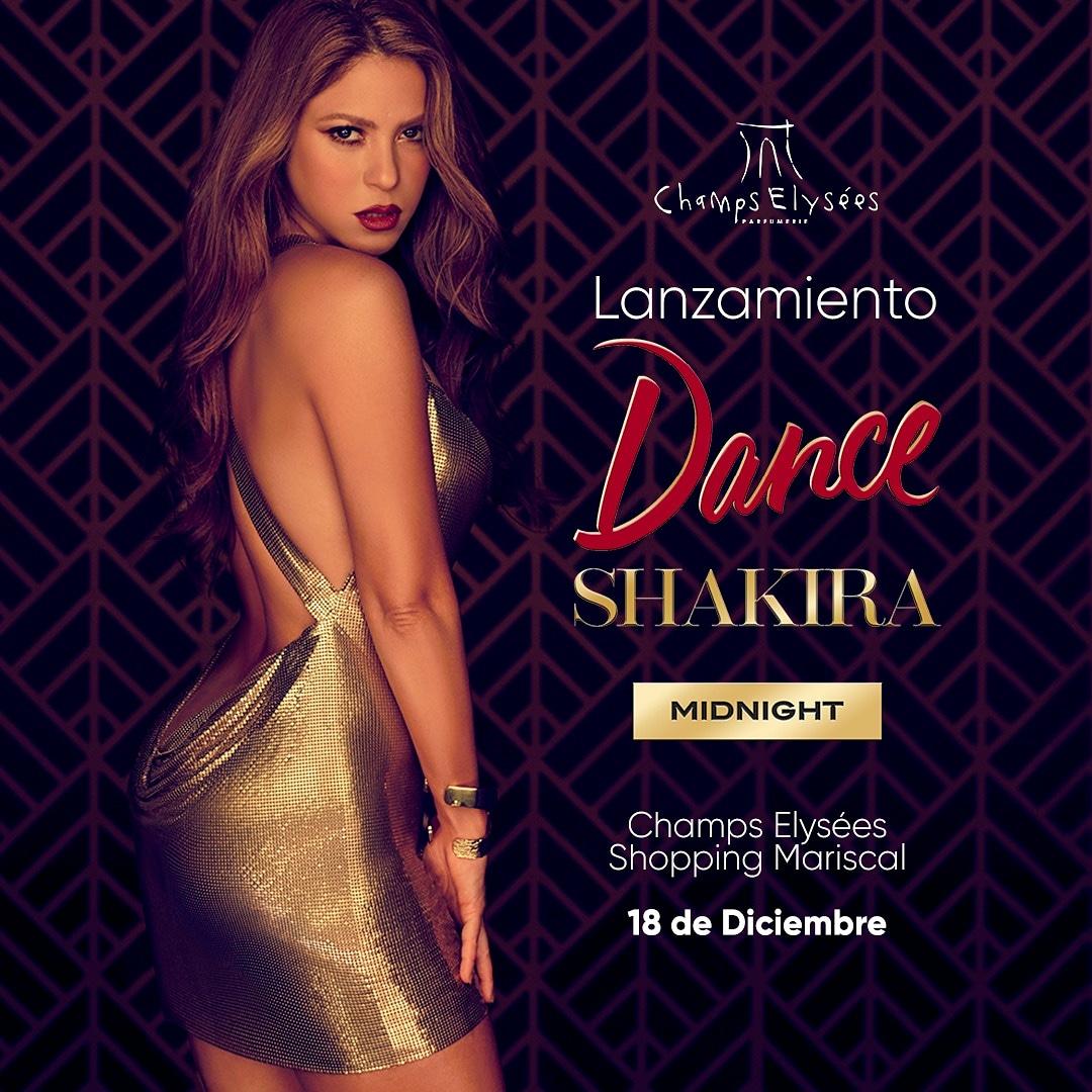 Este viernes 18 a las 18:30 hs se realizará el lanzamiento oficial de  #DreamMidnight, la nueva fragancia de @Shakira en el Champs del Mcal Lopez Shopping. Les esperamos! 🥰 #Shakira  #ShakiraPerfumes  #Shakifans
