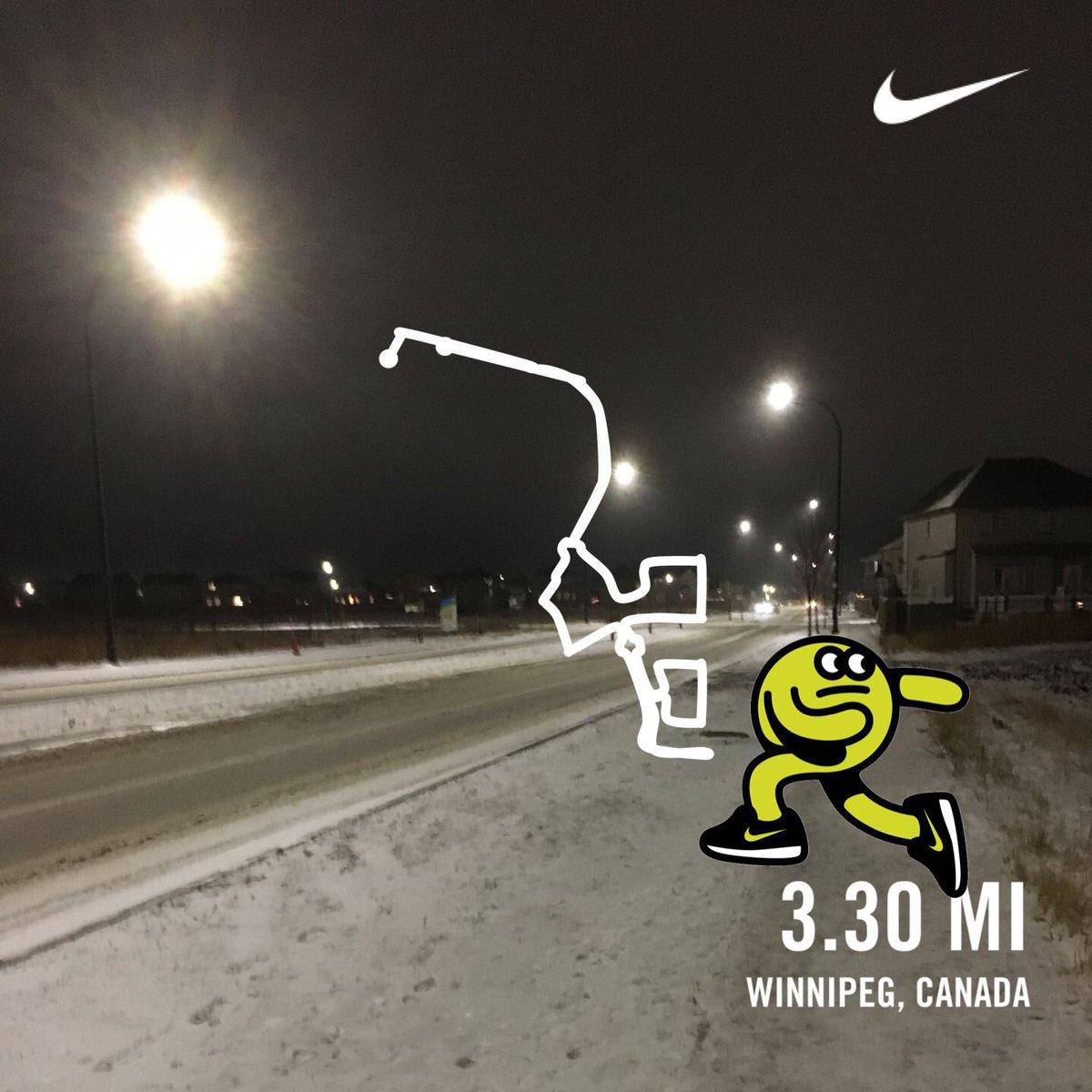 Ran 3.30 miles with Nike Run Club #movewithhart #hustlehart #moonshot @NikeService