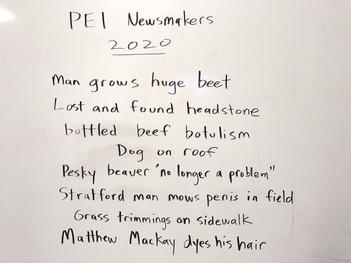 Announcing the #PEInewsmakers2020