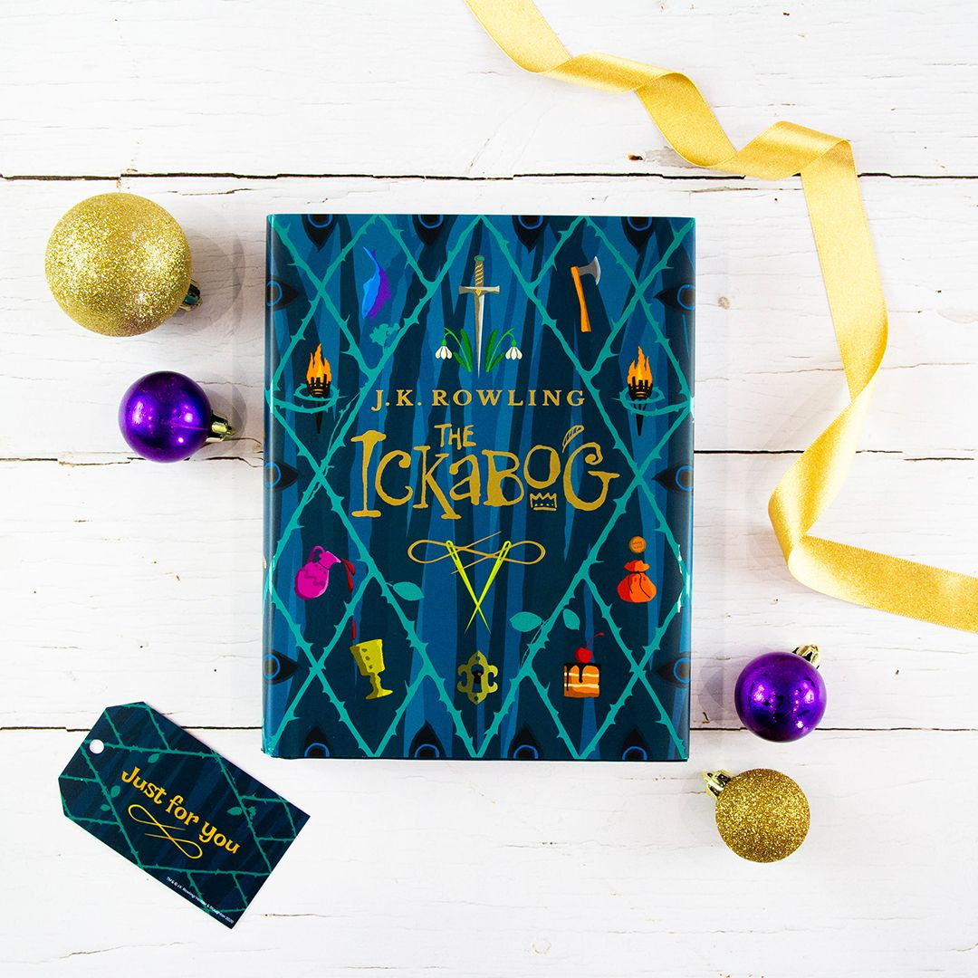 Complete with gold foil and a removable jacket, #TheIckabog hardback edition is the perfect gift for the whole family to share this Christmas. Out now at