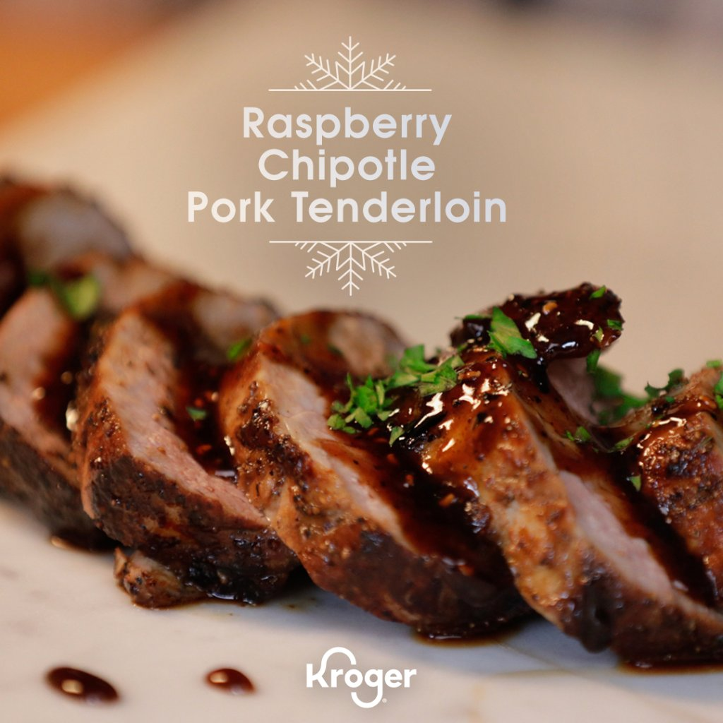 Smokey, Sweet, and oh so easy to make. This rich and flavorful Raspberry Chipotle Pork Tenderloin from BBQ legends Brent and Juan Reaves will have everyone at the table reaching for seconds 💯