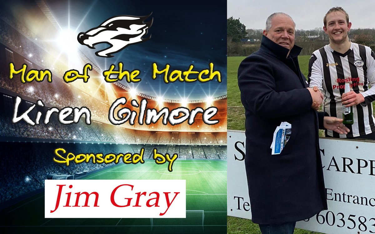 Benhall St Mary would like to extend their thanks to @HighwayAssuran1 for sponsoring our Reserve game on Saturday👍  Here's MD, Robert Watton, with selected MOTM Kiren Gilmore post-match🍺  We hope you enjoyed your stay at Benhall & hope to see you at The Den again soon 🦡