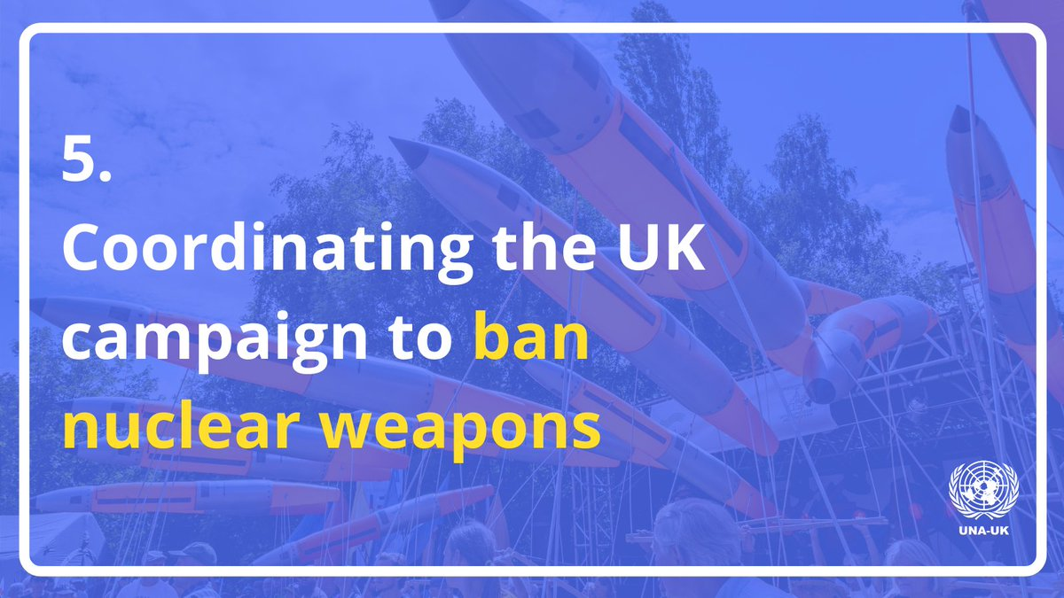 5:  Becoming the coordinator for @ICAN_UK!  It's been a big year for disarmament - the Treaty on the Prohibition of #NuclearWeapons reached 50 ratifications on #UNDay!  We can't wait for what's to come in 2021 - starting with the #TPNW's entry into force!  #UNAUKin2020