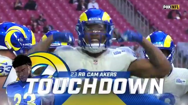 Cam Akers isn't playing like your typical rookie. 😤  @thereal_cam3 | @RamsNFL | #RamsHouse   📺: #NYJvsLAR -- Sunday 4:05pm ET on FOX 📱: NFL app // Yahoo Sports app