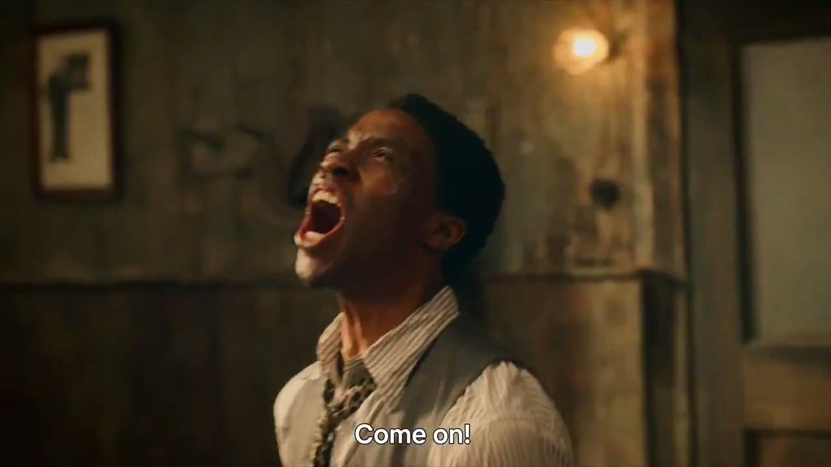 Chadwick Boseman: a man among men.   Ma Rainey's Black Bottom premieres this Friday, December 18.