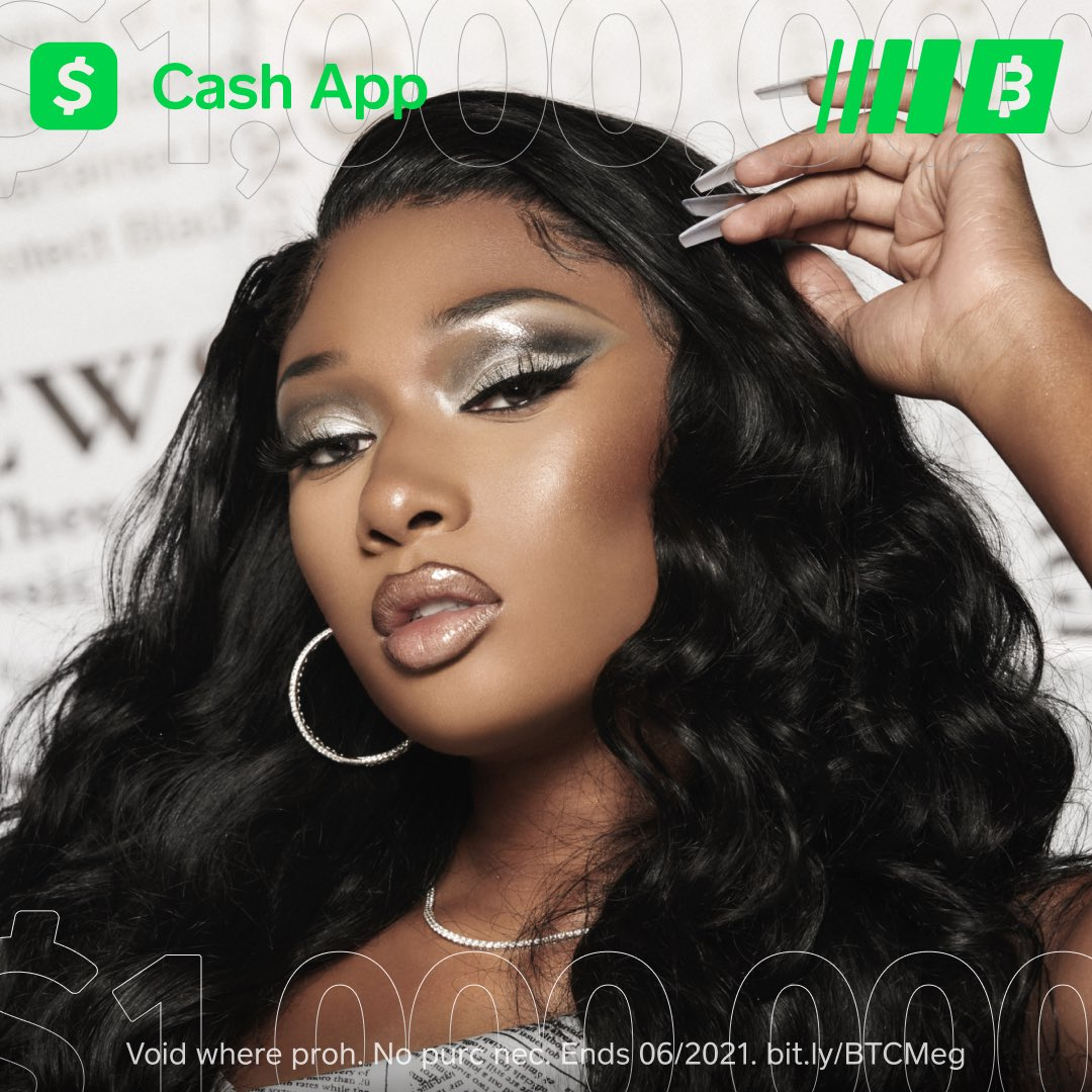 Thee Hot Girl coach is OFFICIALLY on team @Cashapp ! To celebrate I'm giving $1 MILLION in Bitcoin to as many hotties as I can! Will be giving out this million units until its gone, so drop your $cashapp below w #BITCOINMEG to get a piece