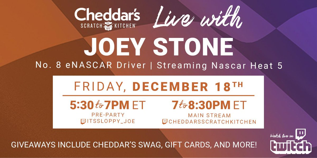 Mark your calendars — we'll be live on Twitch tomorrow at 7:00PM ET with Joey Stone! Find all the info here: https://t.co/yTNb5pw3At https://t.co/OUbtGmAPR5