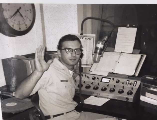 #ProudtoHonor MSgt. Jack Arnold - USAF (Ret.) The number 1DJ in the UK (1960's) @TheBunkerLabs