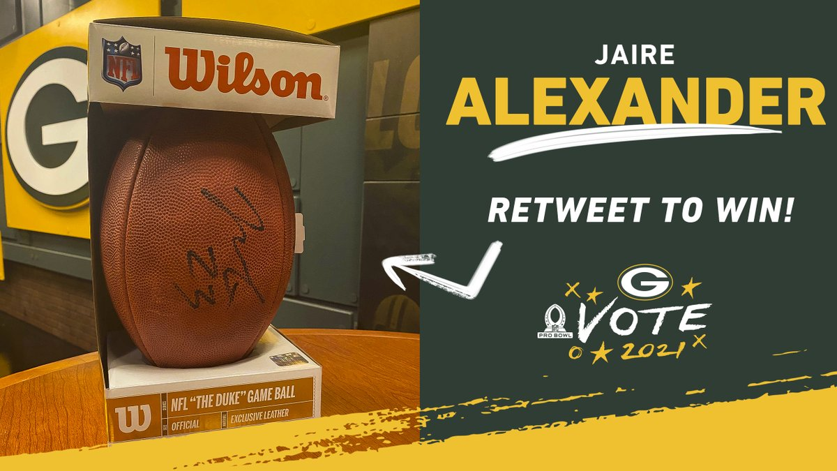 RT for a chance to win this @JaireAlexander signed football! 🏈✍️  #ProBowlVote D-🚂‼️  @TheRealZSmith @PrestonSmith94 @RashanAGary @KCBoutThatLife @DeanLowry94 @BucketsAll_Day @Kirko58 @King_kevvoo @showtimesully10 @_SmashAmos31 @darnellsavage_  Rules: