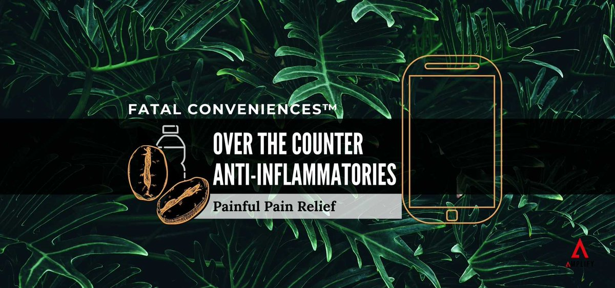 Are over the counter anti-inflammatories safe? Are there any natural options for pain relief? 💊  Find out in this Fatal Conveniences™ segment. OUT NOW!