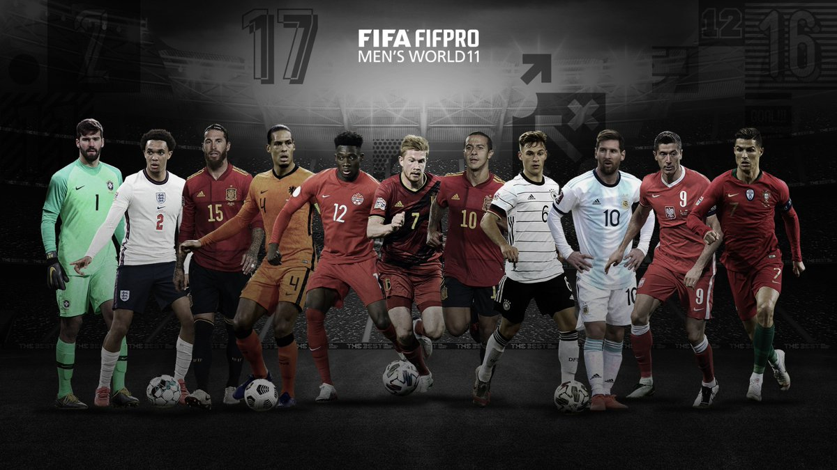 Drei #FCBayern-Spieler in der Weltauswahl! 🔴⚪️  Herzlichen Glückwunsch auch an @Thiago6! 🙌  #MiaSanMia #FCBayern