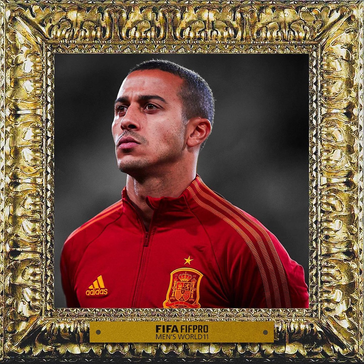 • 2020 FIFPRO Men's World XI •   Congrats, @Thiago6 🎩.   The invisible work speaks for itself. Keep pushing and making us enjoy as proud as you do.   #ThiagoThePlayer