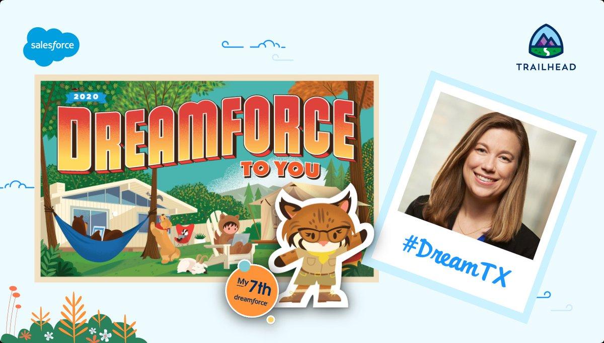 So much #Appyness enjoying my 7th Dreamforce! #DreamTX #AwesomeAdmin