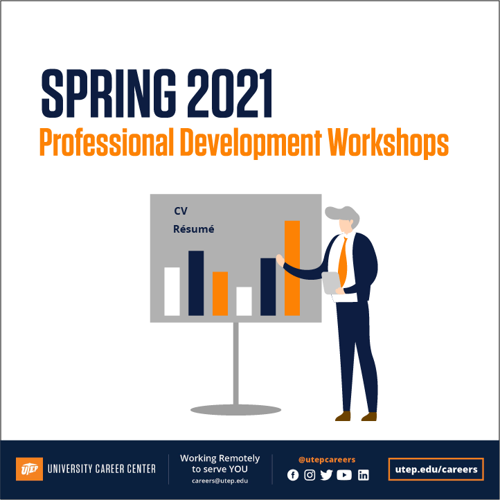 Utep Spring 2022 Calendar.Utep Career Center On Twitter Mark Your Calendars Did You Miss Our Virtual Workshops This Semester Don T Worry Sign Up For Spring 2021 Virtual Workshops On Job Mine Https T Co 83r3o0fgqv Virtualworkshops Workshops2021 Utepcareers