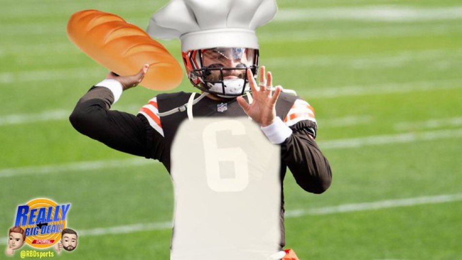 """.@bakermayfield """"When it comes to getting fed, I'm the Baker with the bread""""... #Browns https://t.co/9An0wWxfXW"""