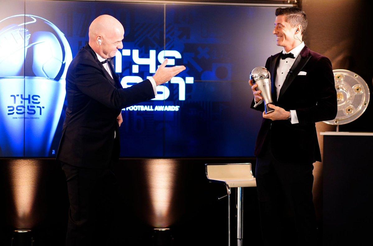 FIFA The Best 2020: Xướng tên Robert Lewandowski!