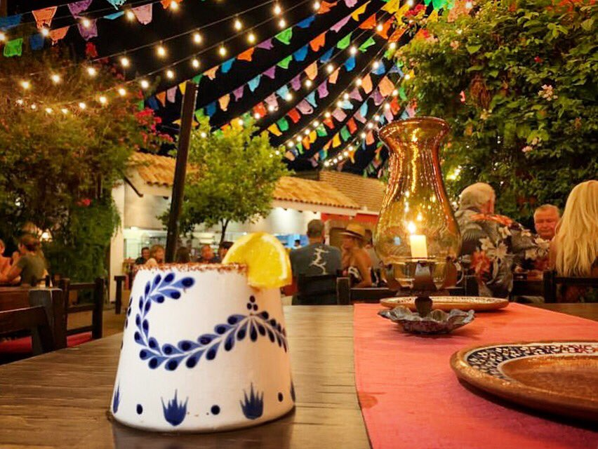 Who agrees to say this is much better than blizzard?   Zipping a delicious Los Tres Gallos Margarita under the stars.  #lostresgallos #margaritatime #cabosanlucas #outdoordining #mexicanrestaurant #claseazul #tequilalover #margaritalover #bestmargaritas #thirstythursday #cabotrip